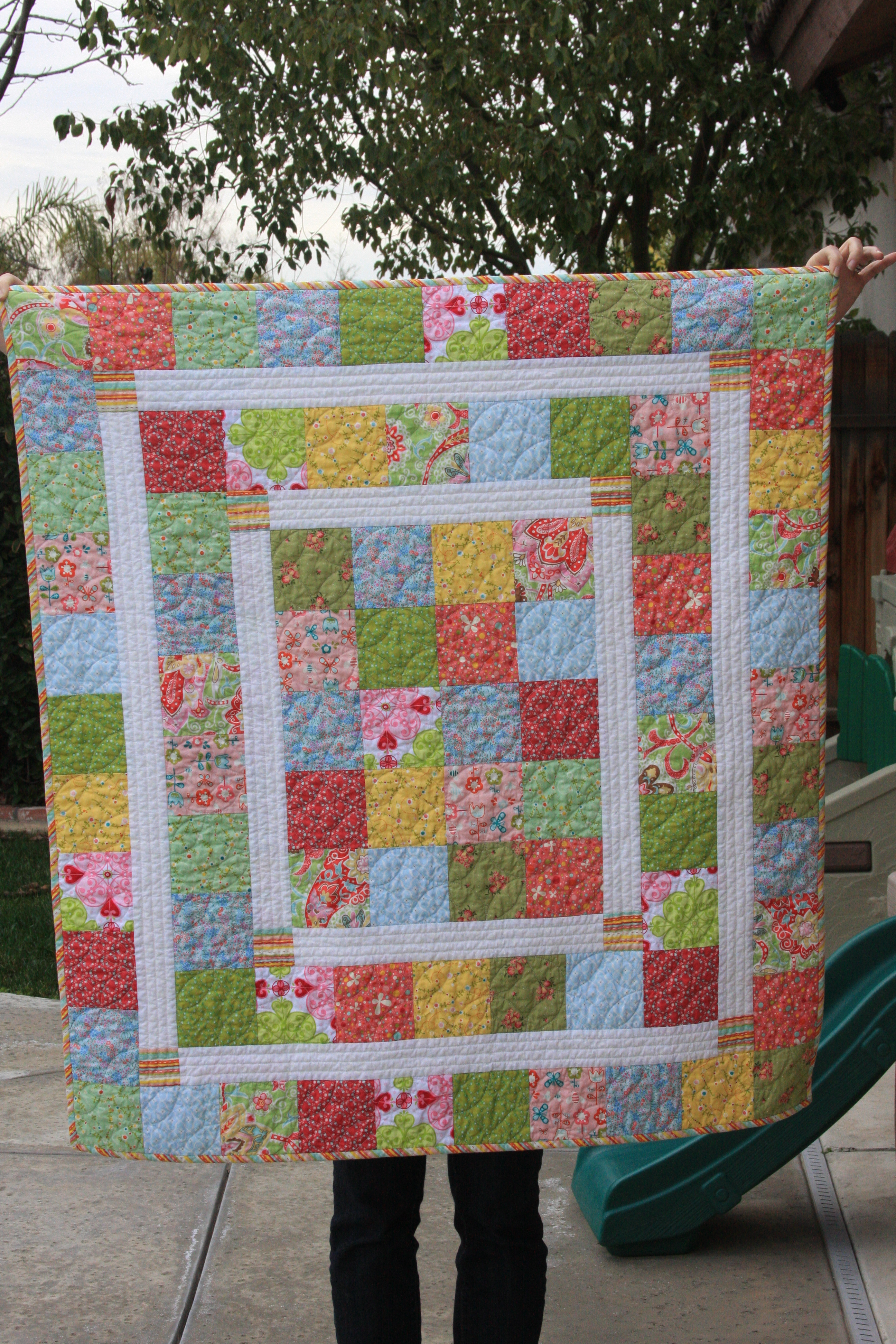 finally   the kelsie baby quilt post