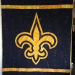 New Orleans Saints Quilt top